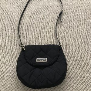 Marc Jacobs Quilted Crossbody -- Black